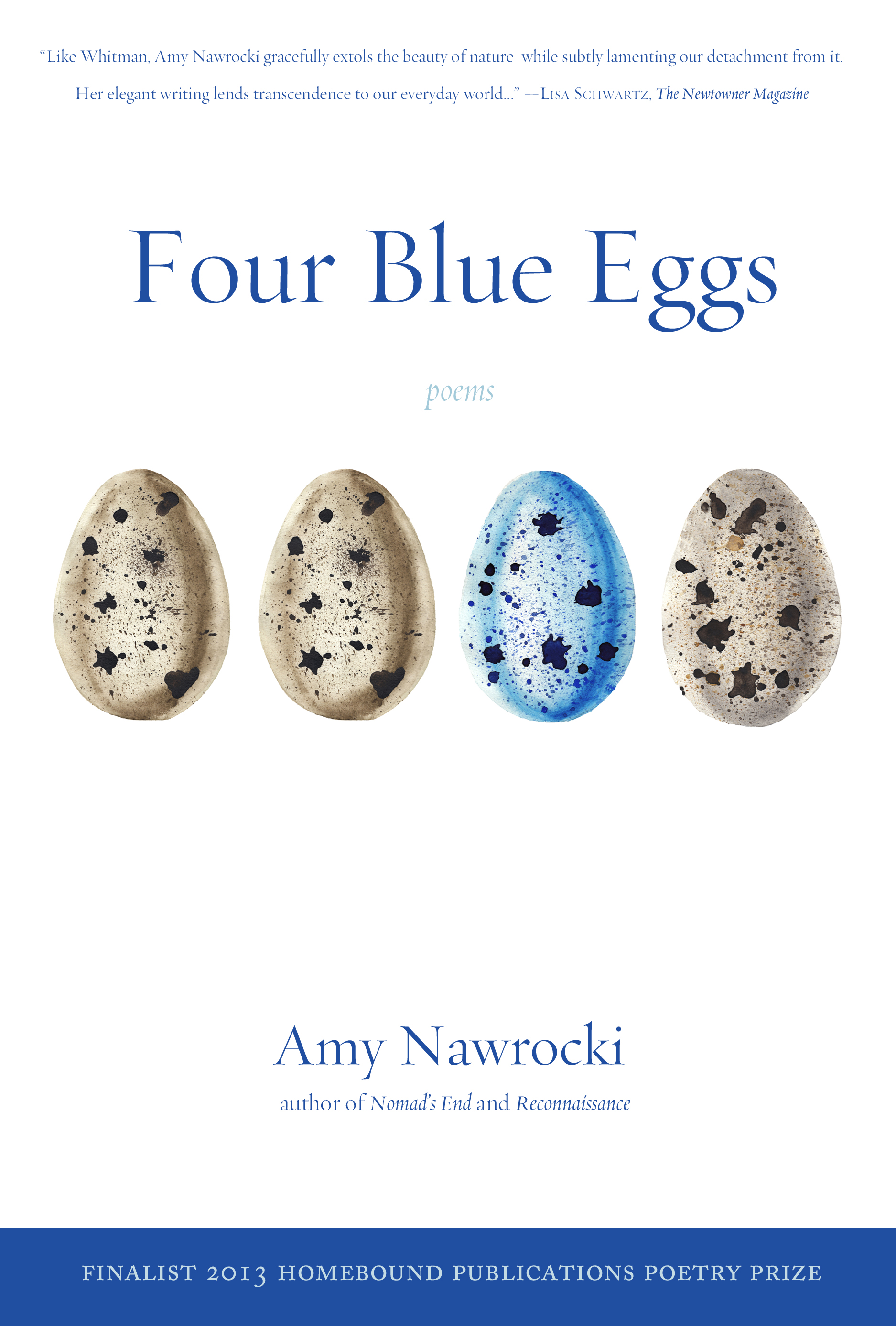 Four Blue Eggs