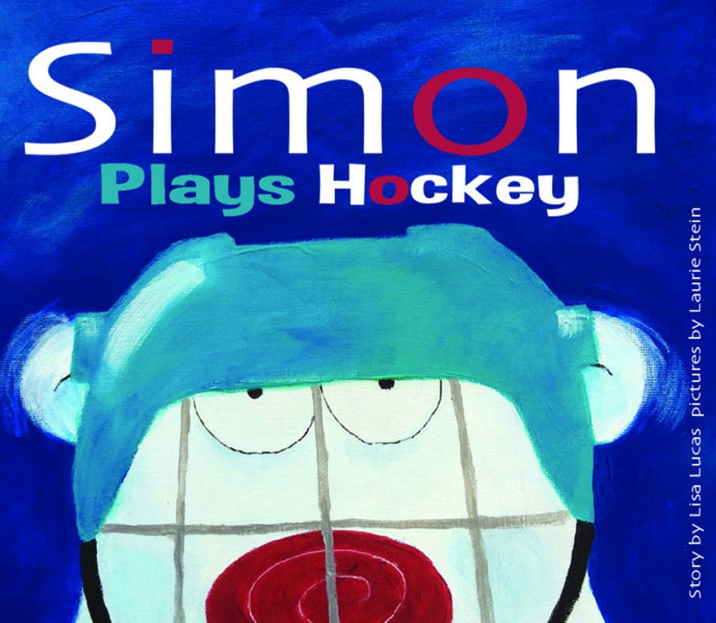 Simon Plays Hockey