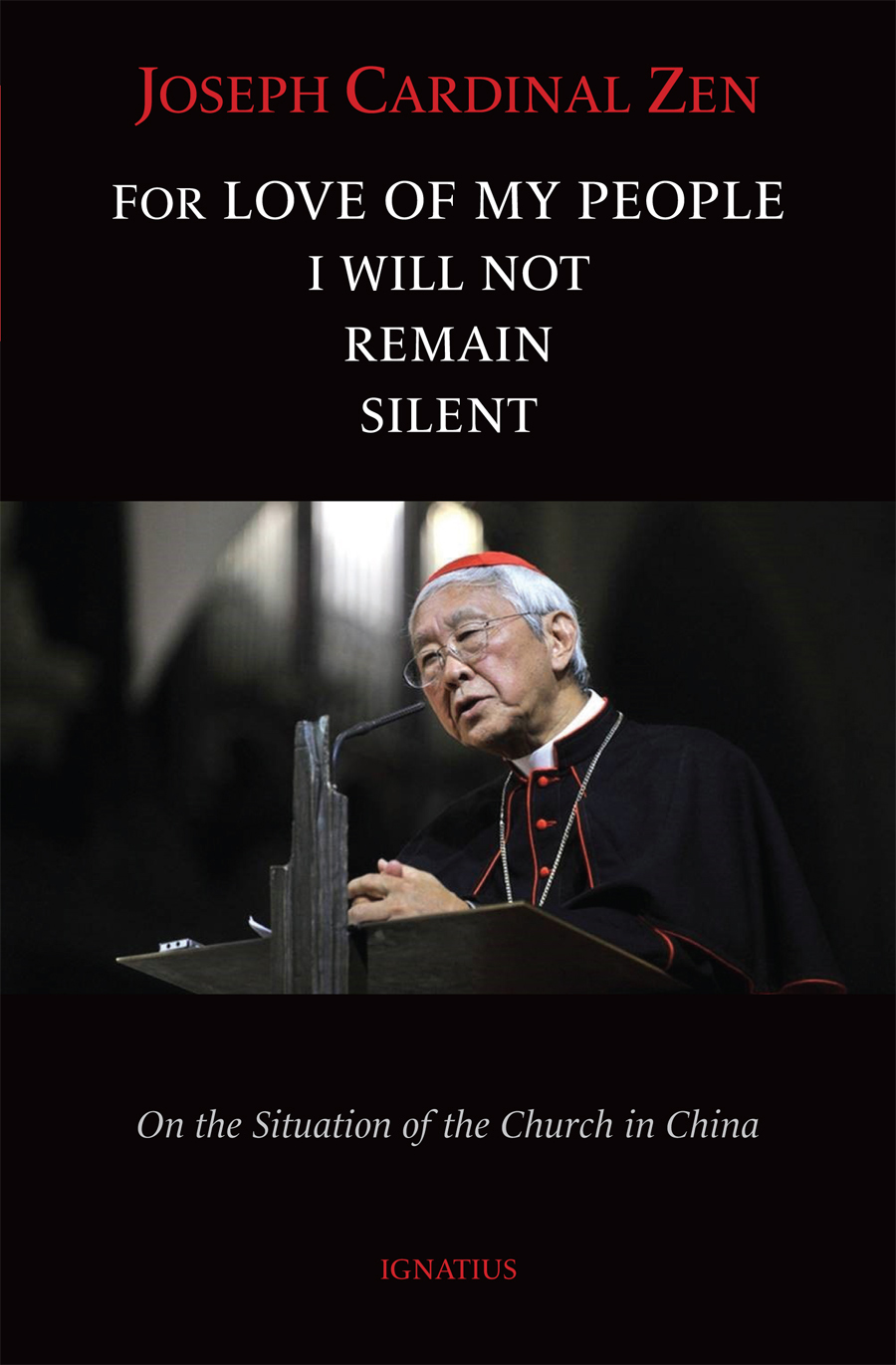 For Love of My People I Will Not Remain Silent