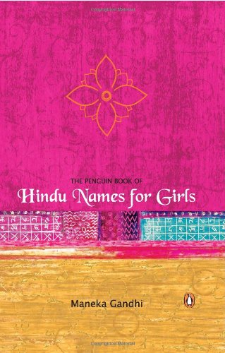 PENGUIN BOOK OF HINDU NAMES FOR GIRLS.