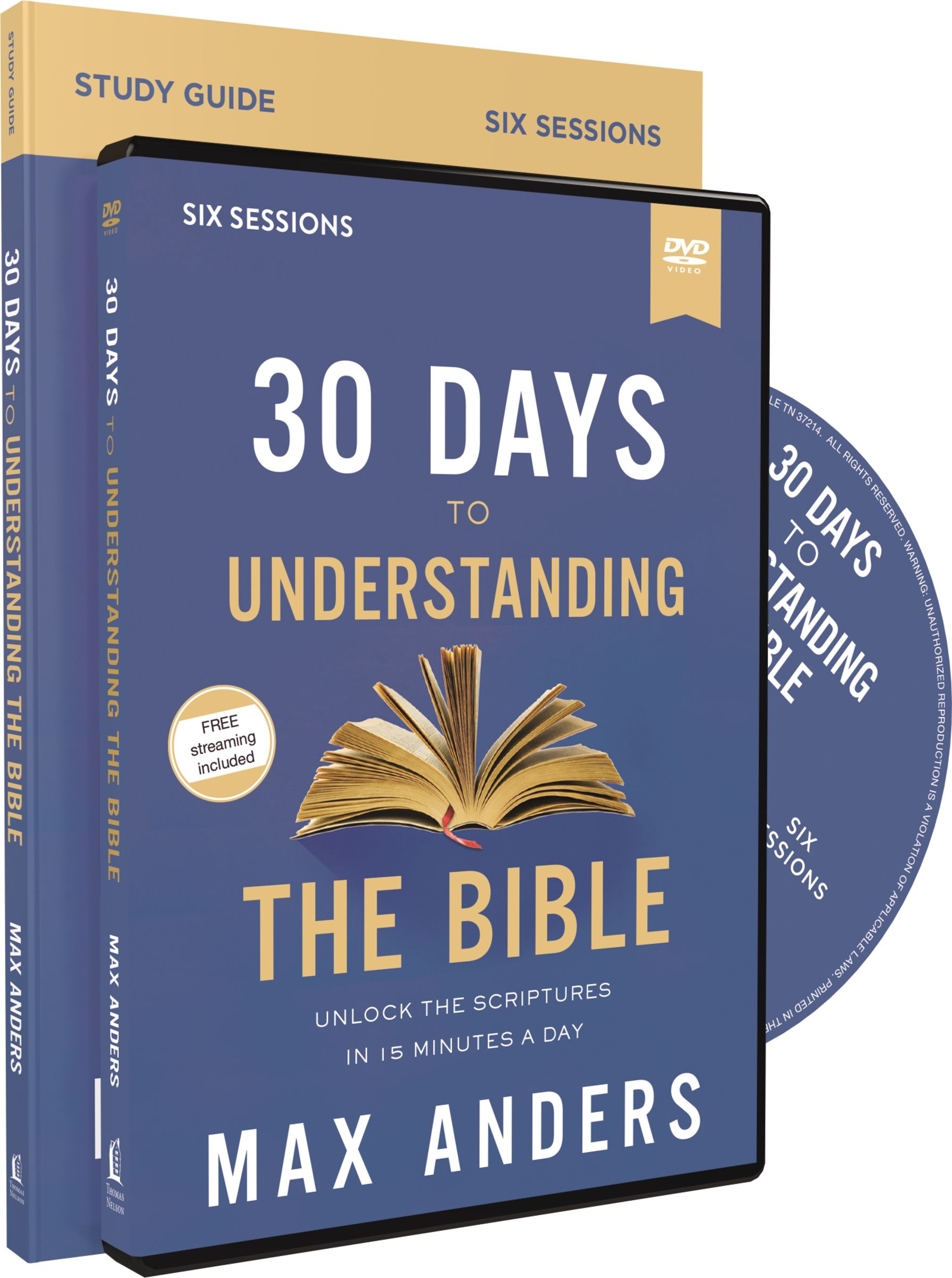 30 Days to Understanding the Bible Study Guide with DVD