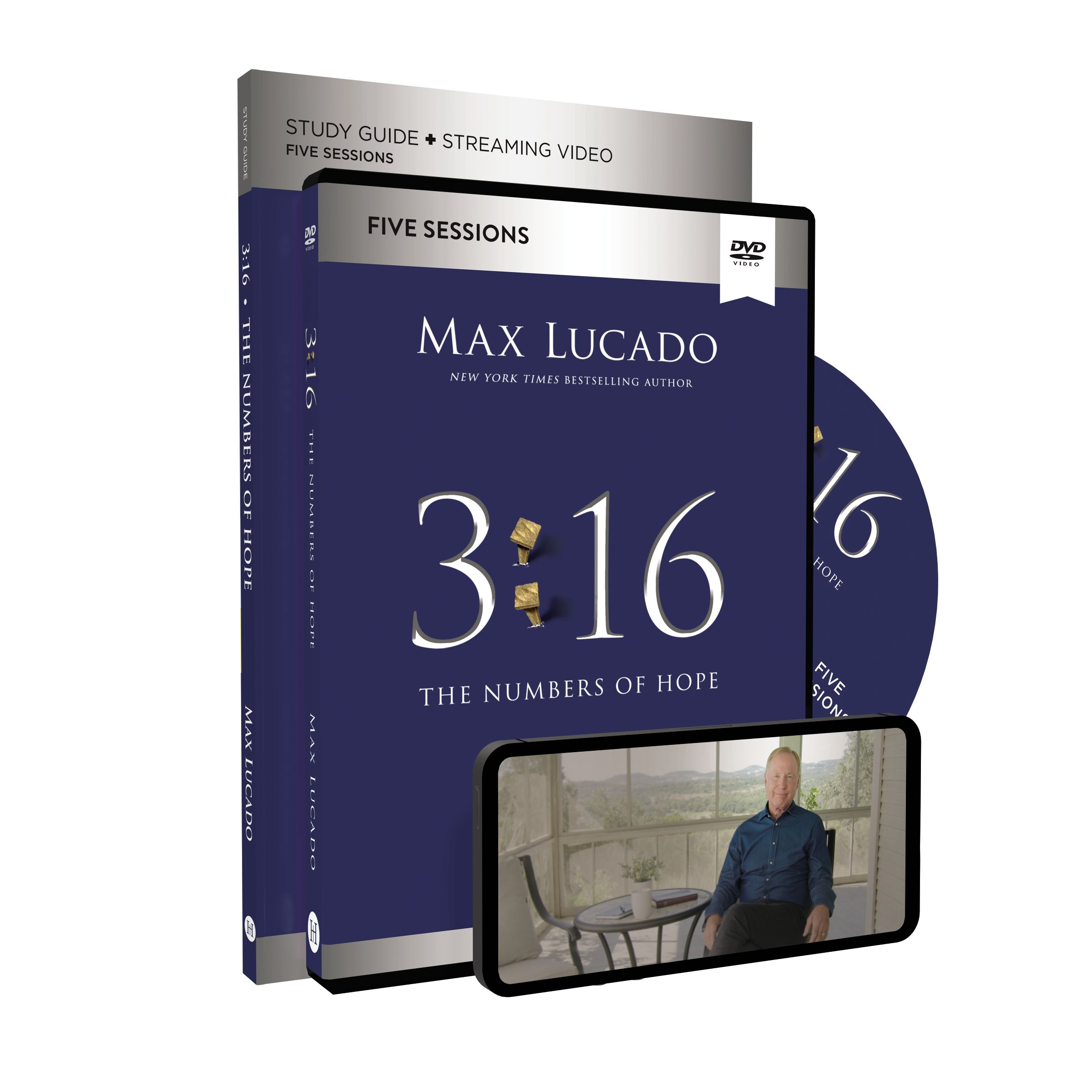 3:16 Study Guide with DVD, Updated Edition