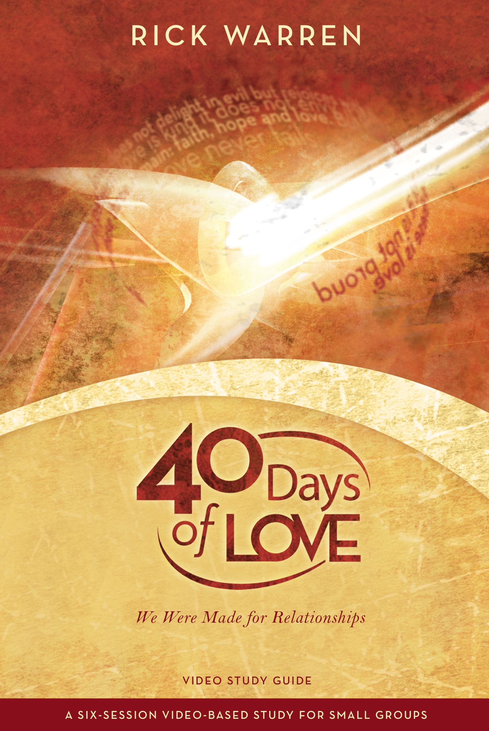 40 Days of Love Study Guide