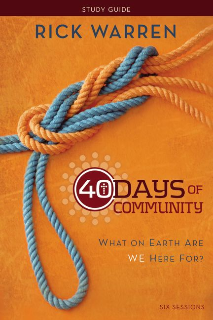 40 Days of Community Study Guide