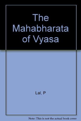 MAHABHARATA OF VYASA.