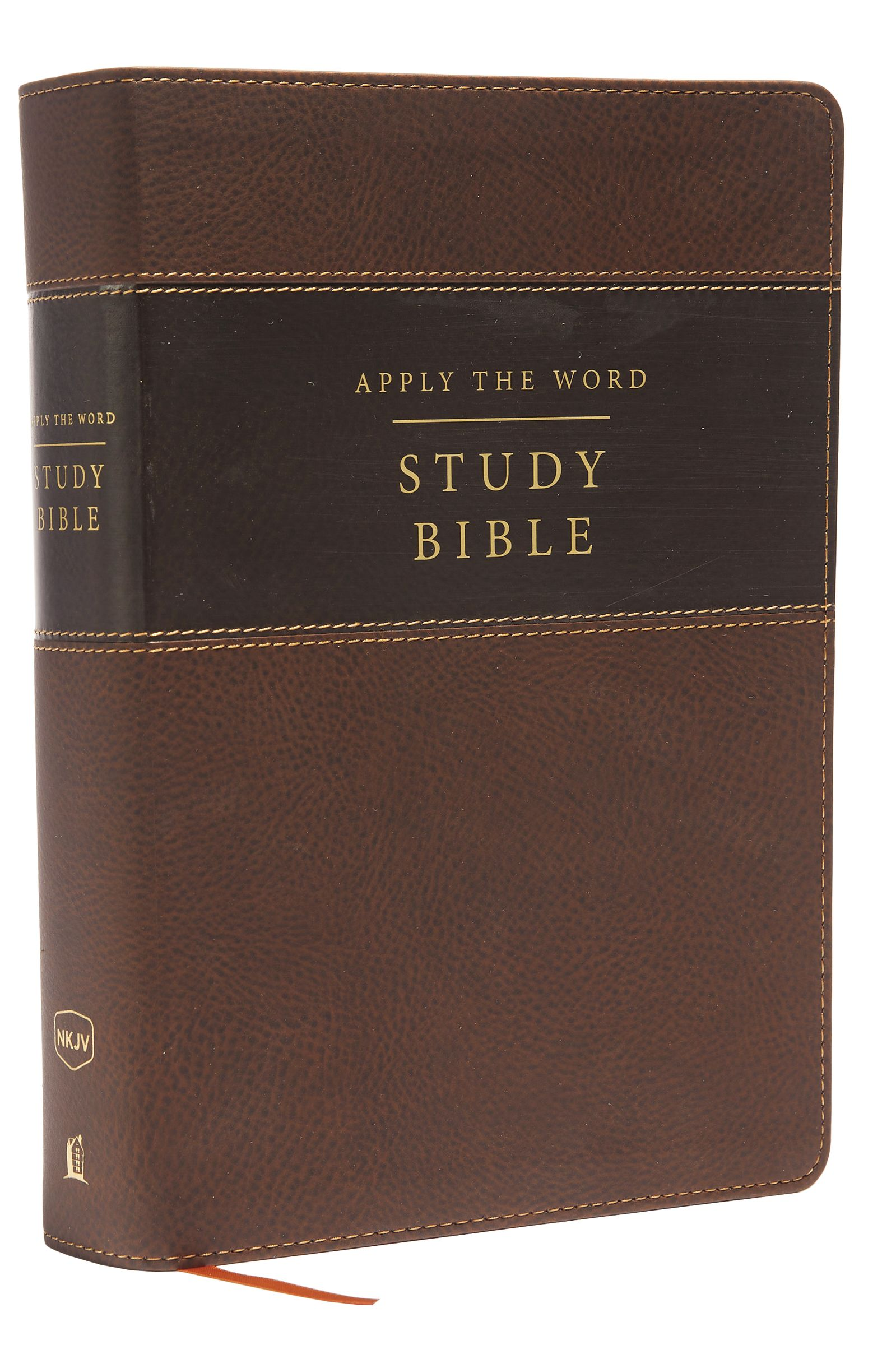 Thomasnelson nataraj books nkjv apply the word study bible large print leathersoft brown indexed fandeluxe Choice Image