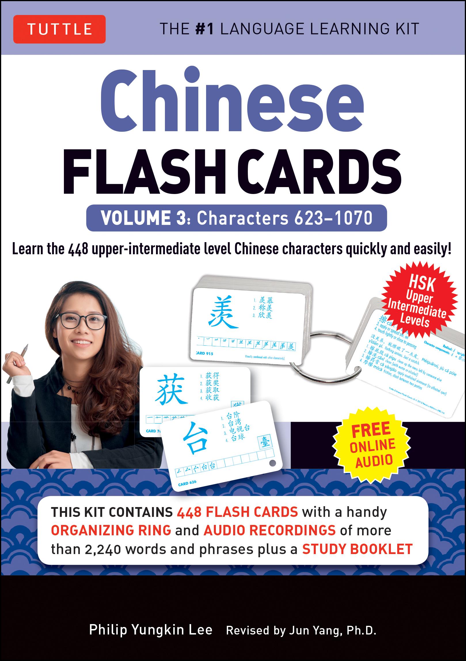 Chinese Flash Cards Kit Volume 3