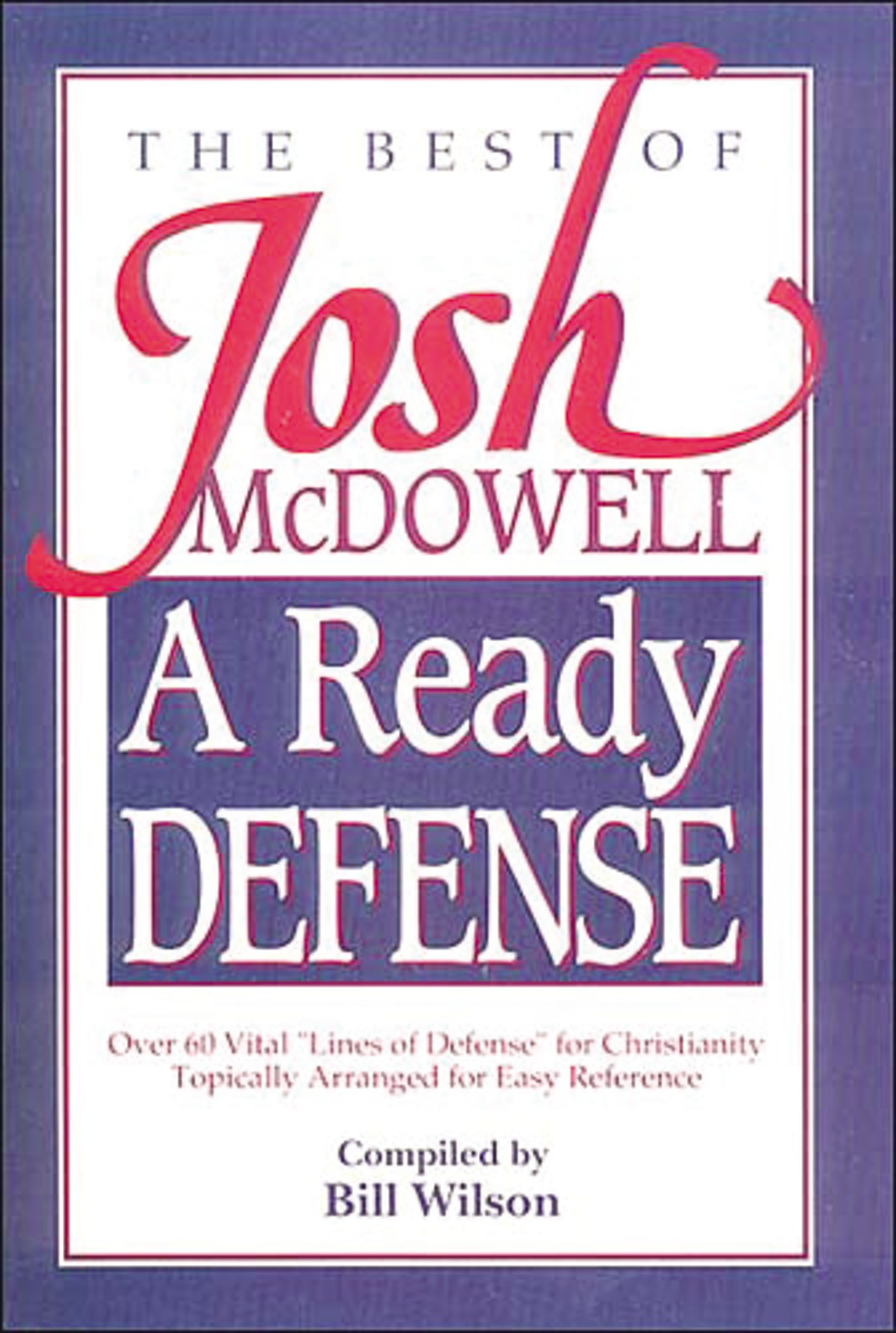 A Ready Defense