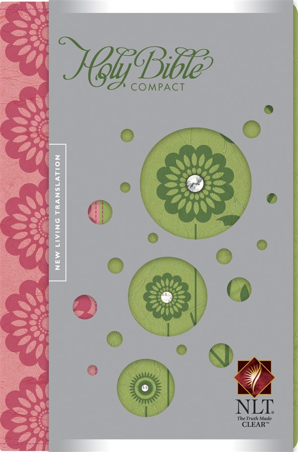 Compact Edition Bible NLT, TuTone (LeatherLike, Strawberry/Kiwi)