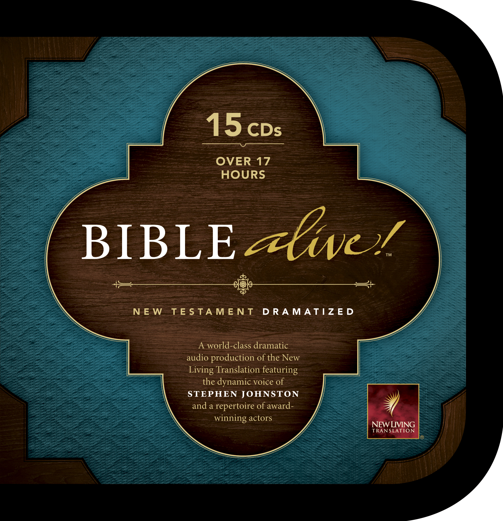 Bible Alive! New Testament (Audio CD, Black)