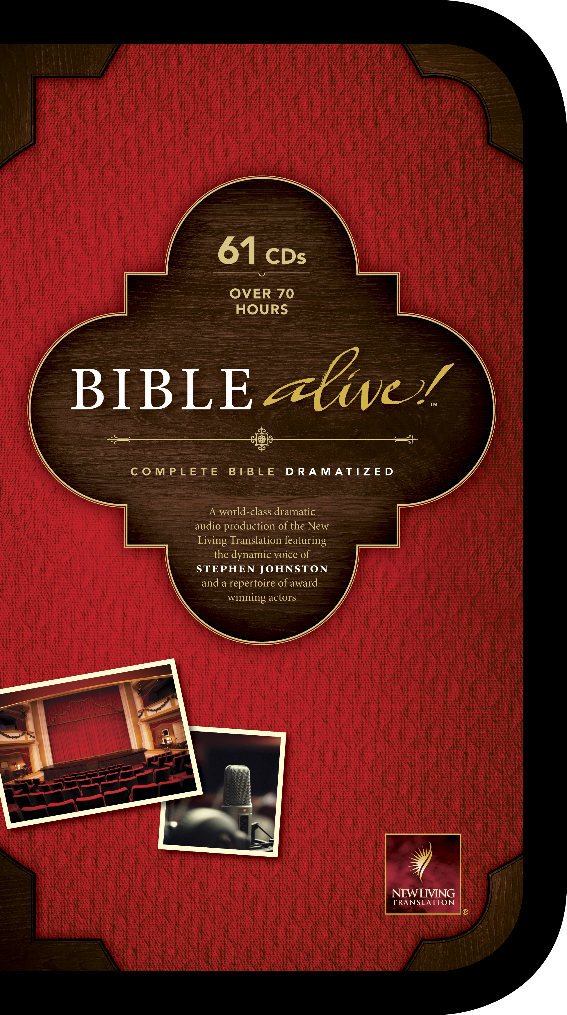 Bible Alive! (Audio CD, Black)