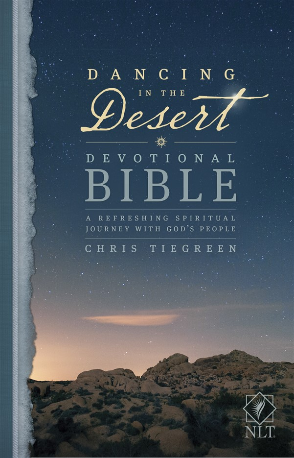 Dancing in the Desert Devotional Bible NLT (Softcover)
