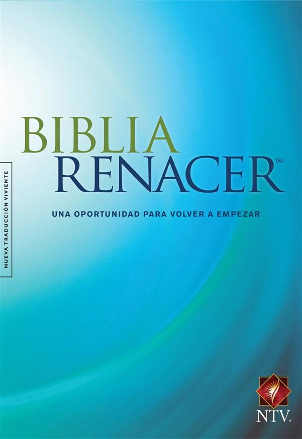 Biblia Renacer NTV (Tapa dura, Azul)