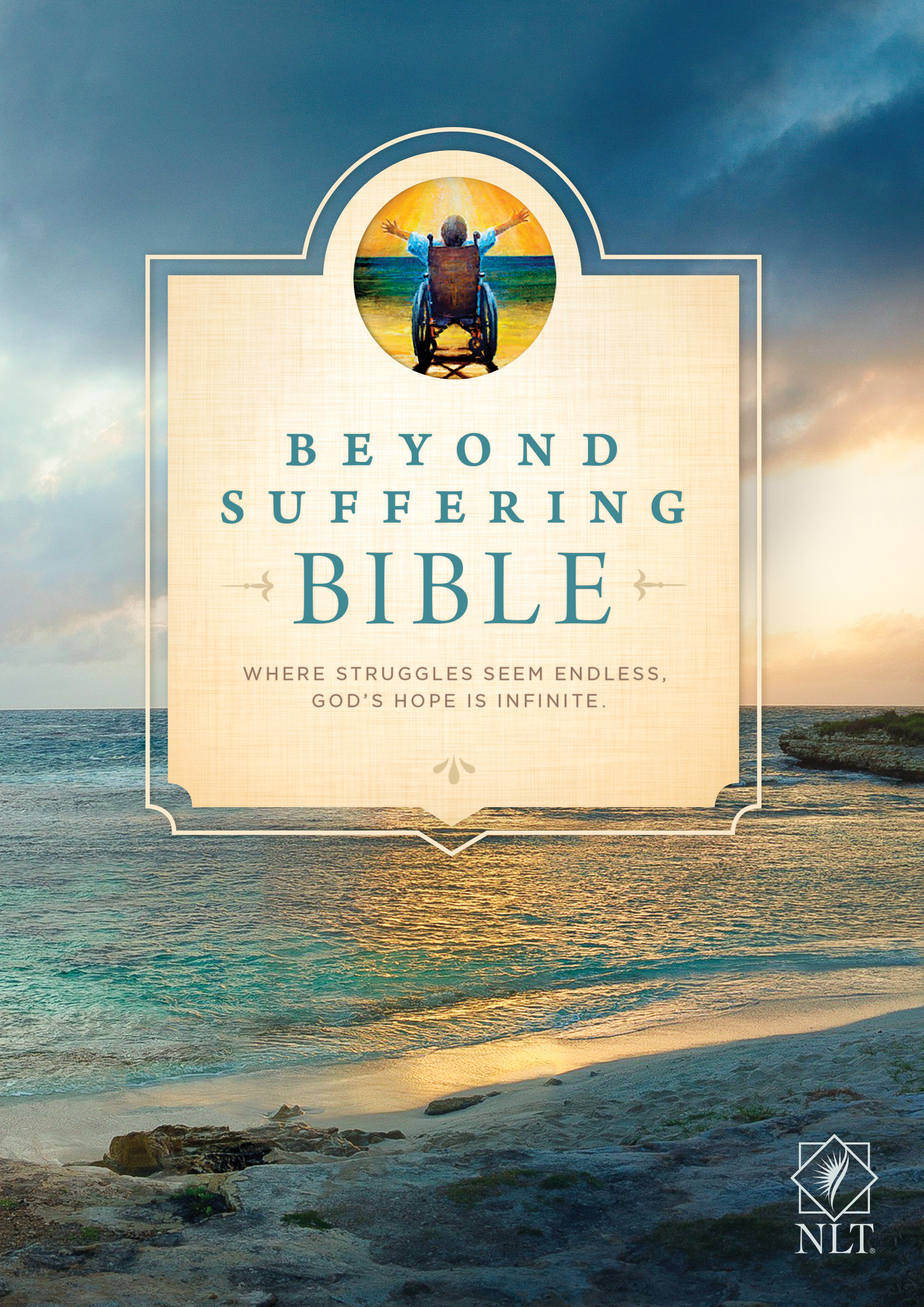 Beyond Suffering Bible NLT (Softcover)