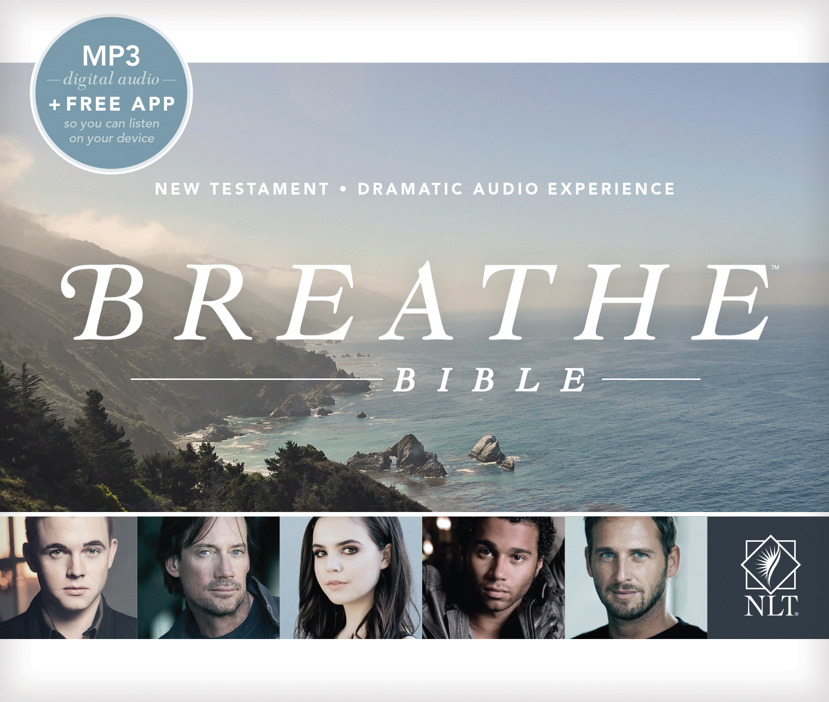 Breathe Bible New Testament NLT MP3, MP3 (Audio CD)