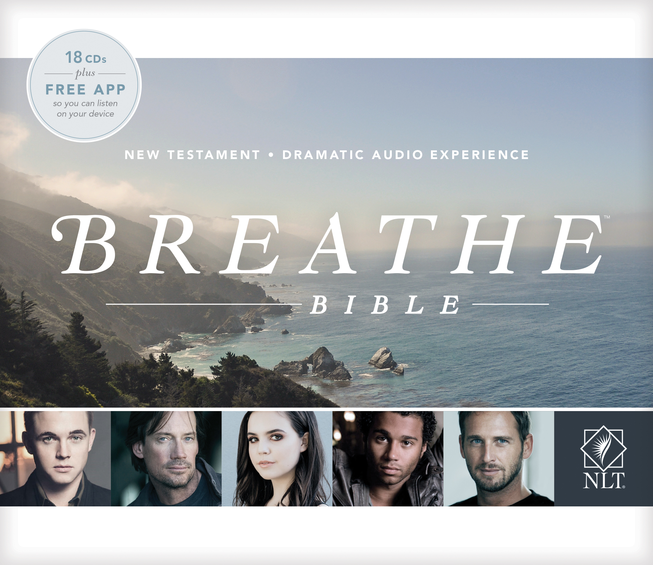 Breathe Bible New Testament NLT Audio CD (Audio CD)