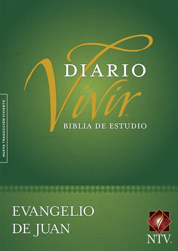 Biblia de estudio del diario vivir NTV, Evangelio de Juan (Tapa rústica)