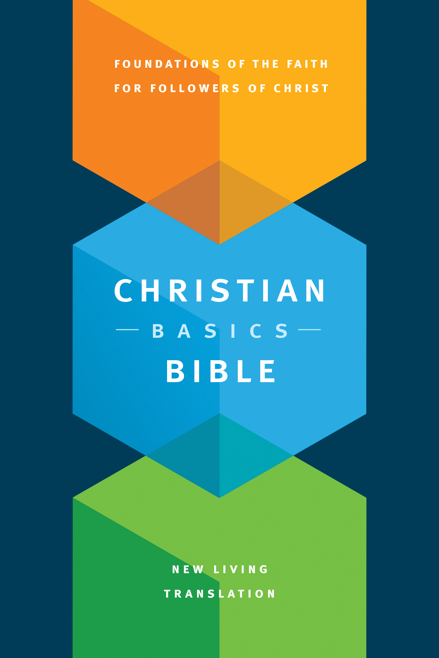 Christian Basics Bible NLT (Hardcover)