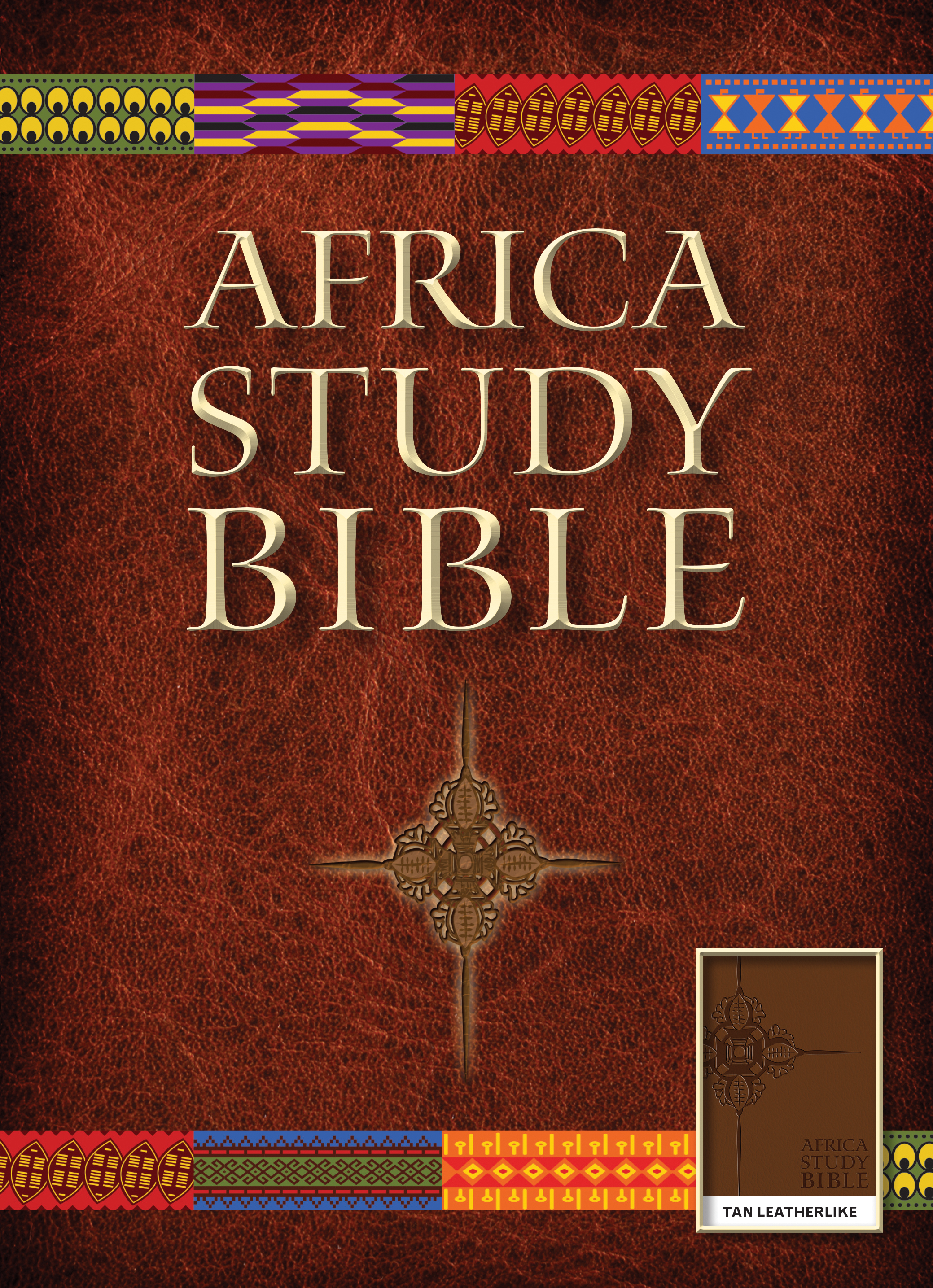 Africa Study Bible, NLT (LeatherLike, Tan)