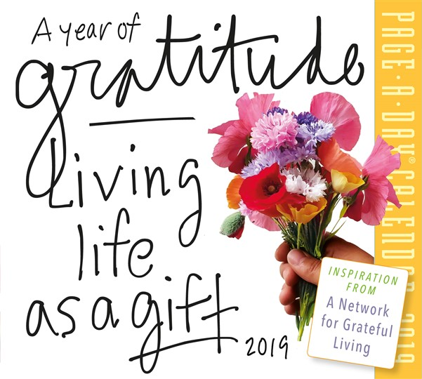 A Year of Gratitude Page-A-Day Calendar 2019