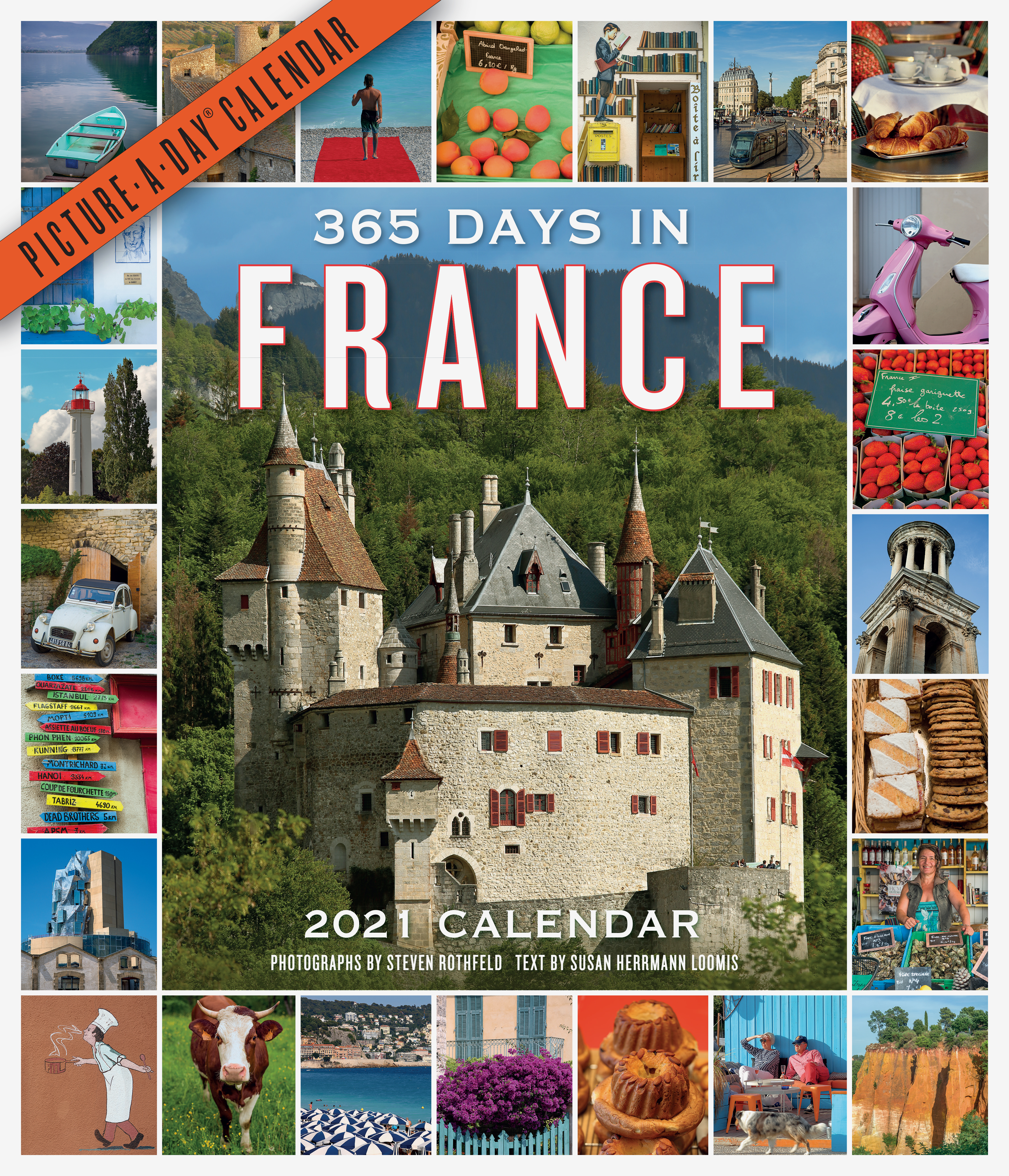 365 Days in France Picture-A-Day Wall Calendar 2021