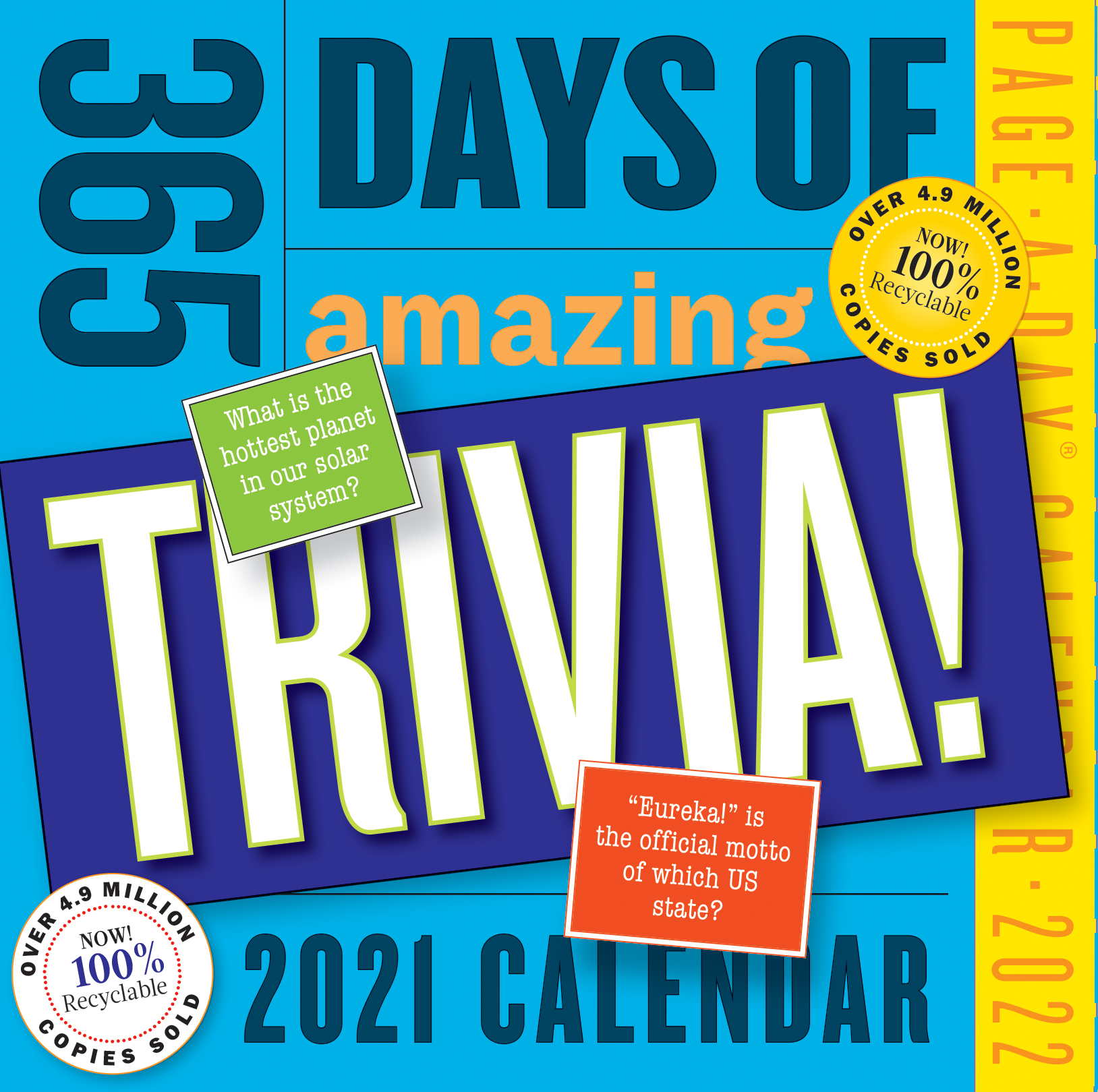 365 Days of Amazing Trivia! Page-A-Day Calendar 2022