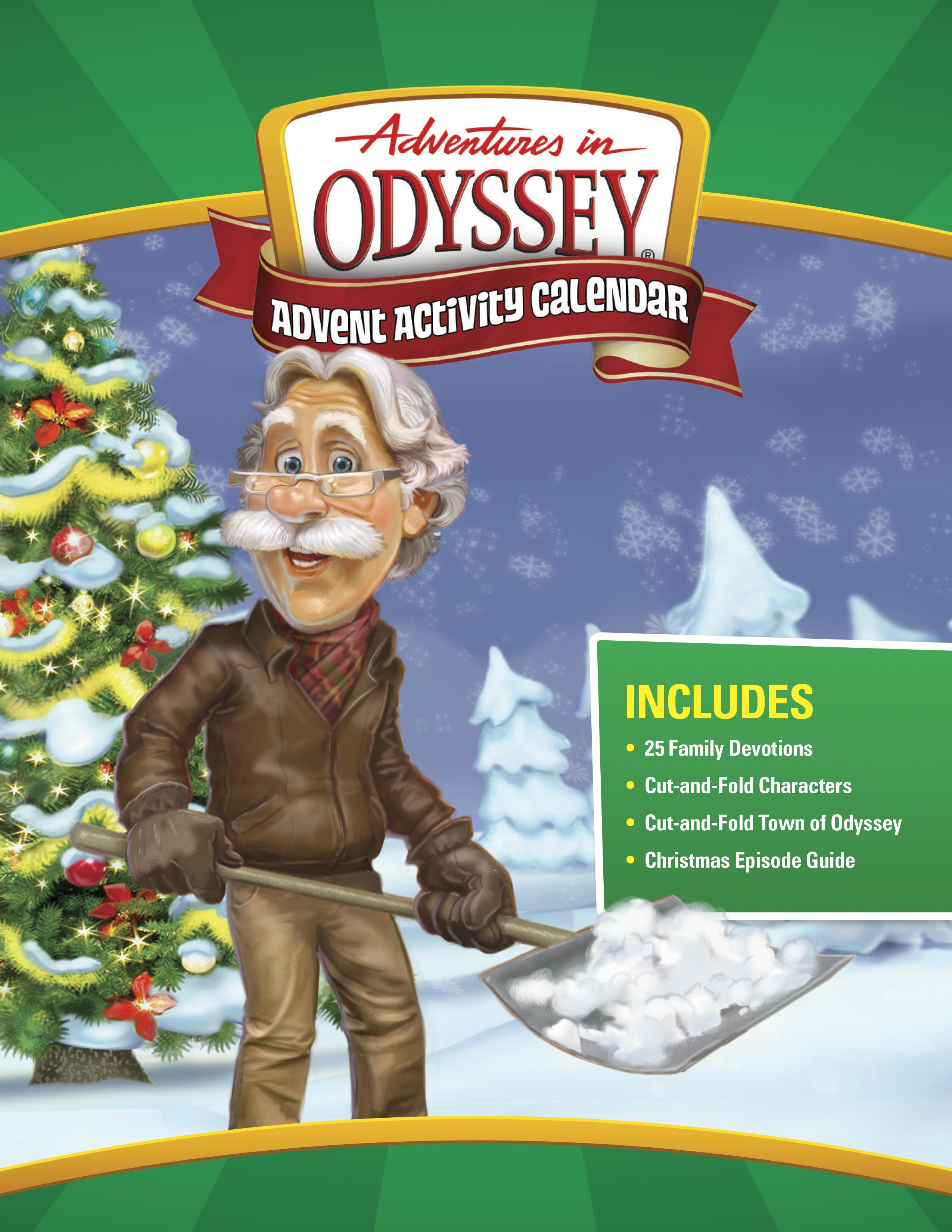 Adventures in Odyssey Advent Activity Calendar