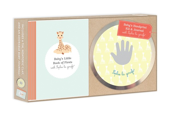 Baby's Handprint Kit and Journal with Sophie la girafe®