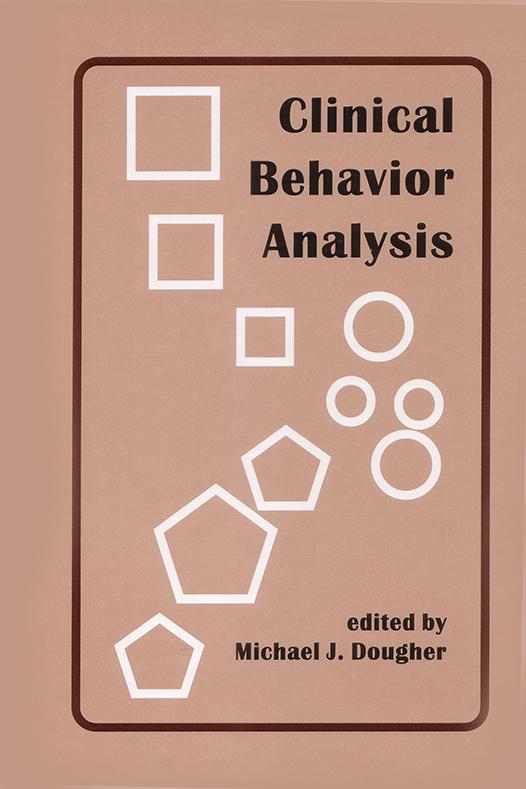 Clinical Behavior Analysis