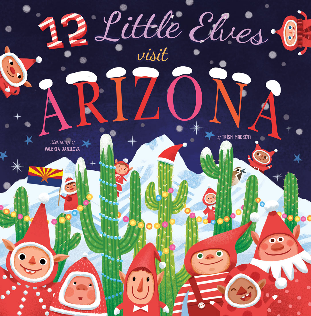 12 Little Elves Visit Arizona