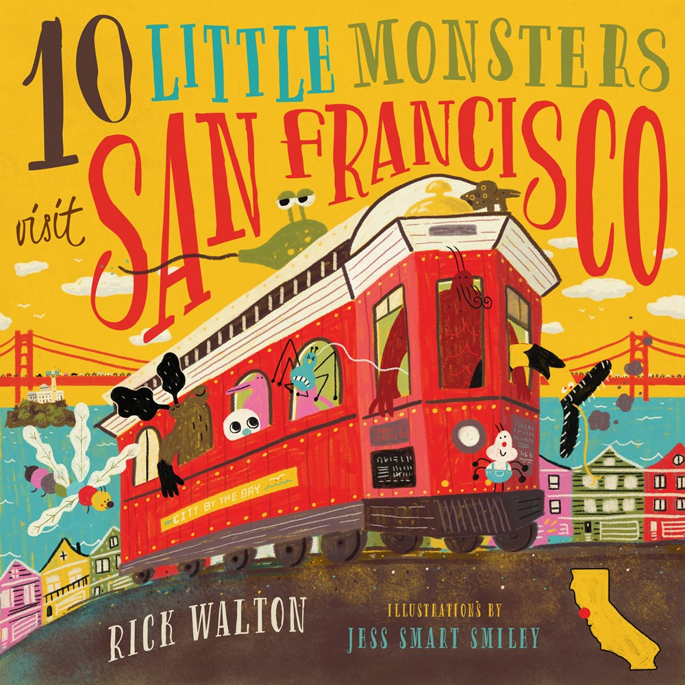 10 Little Monsters Visit San Francisco, Second Edition