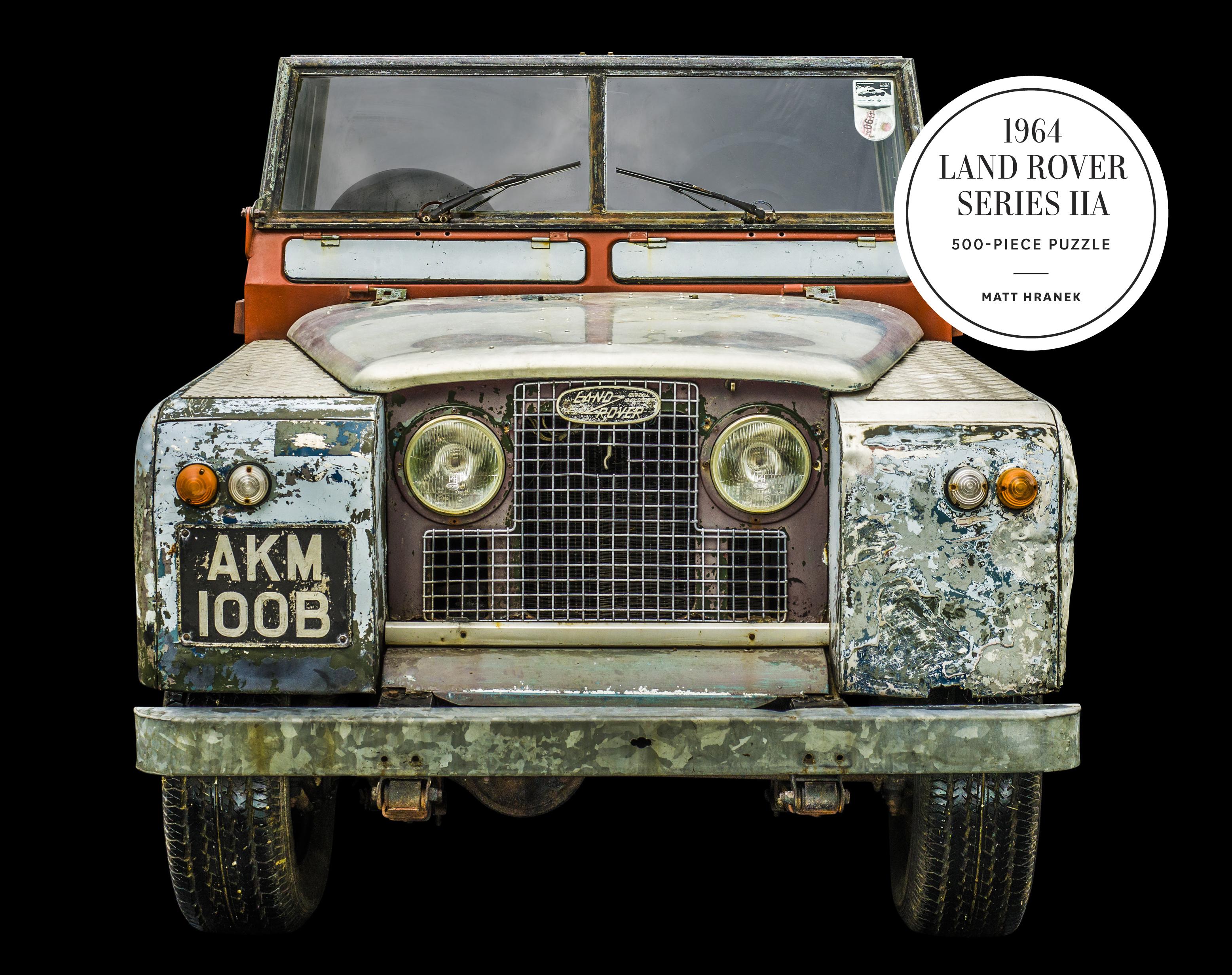 1964 Land Rover Series IIA 500-Piece Puzzle
