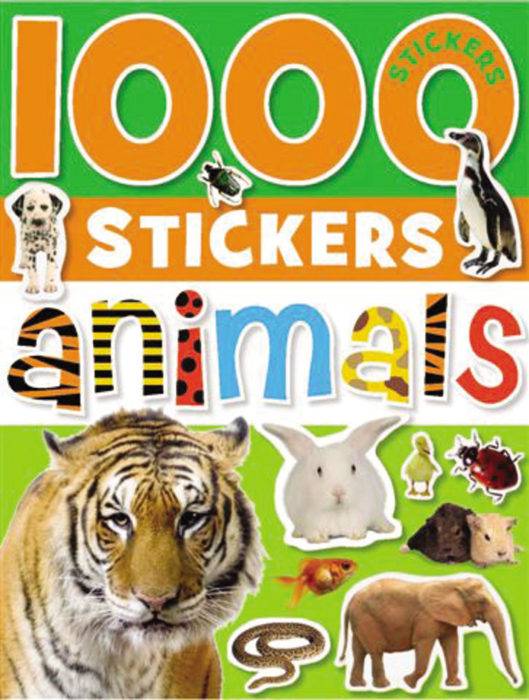 1000 Stickers - Animals