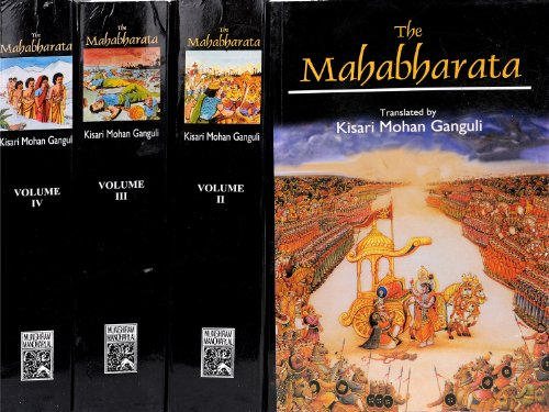 MAHABHARATA OF KRISHNA-DWAIPAYANA VYASA: Translated into English Prose from the  Orginal Sanskrit Text. 4 Vols.