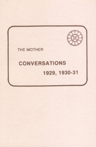 CONVERSATIONS 1929, 1930-31.