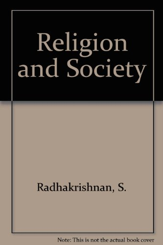 RELIGION AND SOCIETY.