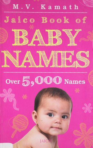 JAICO BOOK OF BABY NAMES.