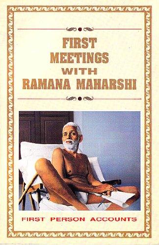 First meetings with Ramana Maharshi