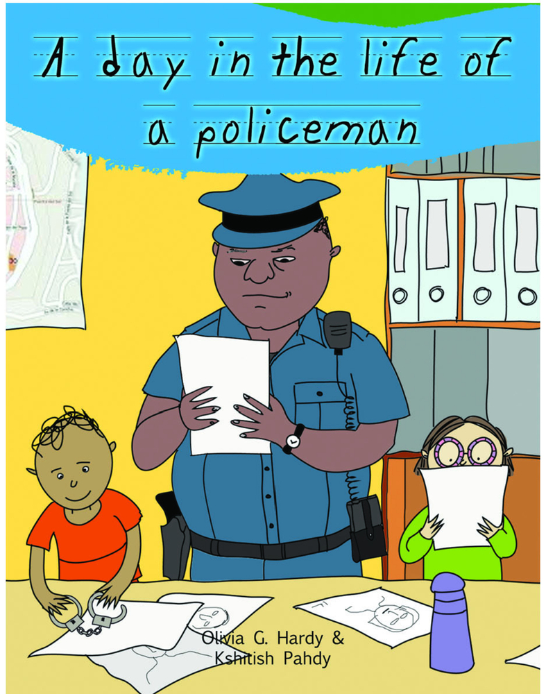 A Day in the Life of Professionals Policeman