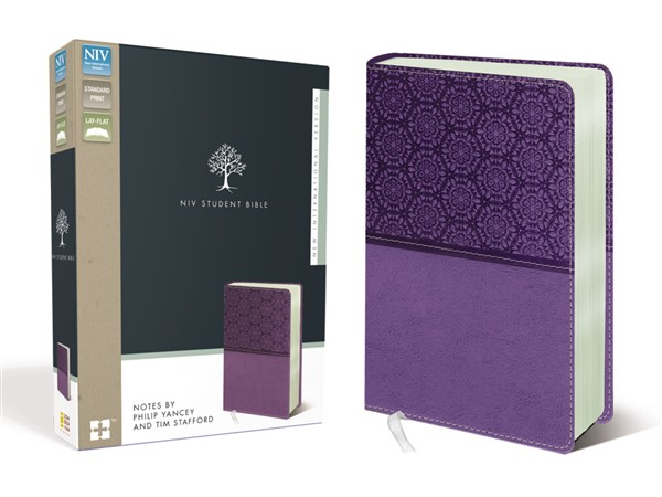 promo code dbb37 e6d00 NIV, Student Bible, Leathersoft, Purple