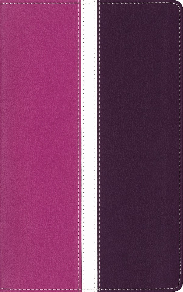 Amplified Holy Bible, Imitation Leather, Pink/Purple