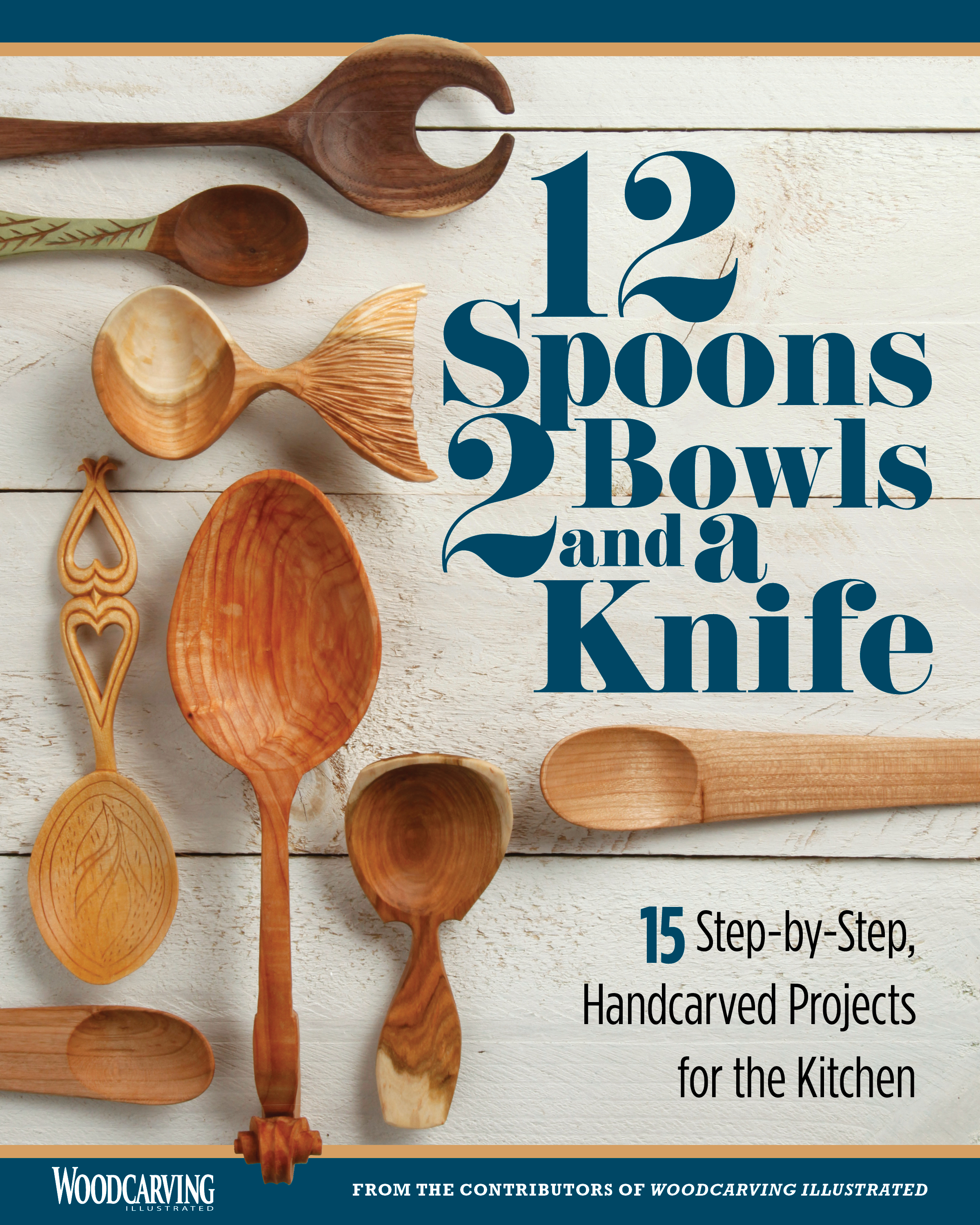12 Spoons, 2 Bowls, and a Knife