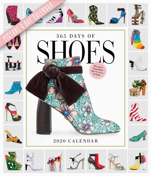 365 Days of Shoes Picture-A-Day Wall Calendar 2020