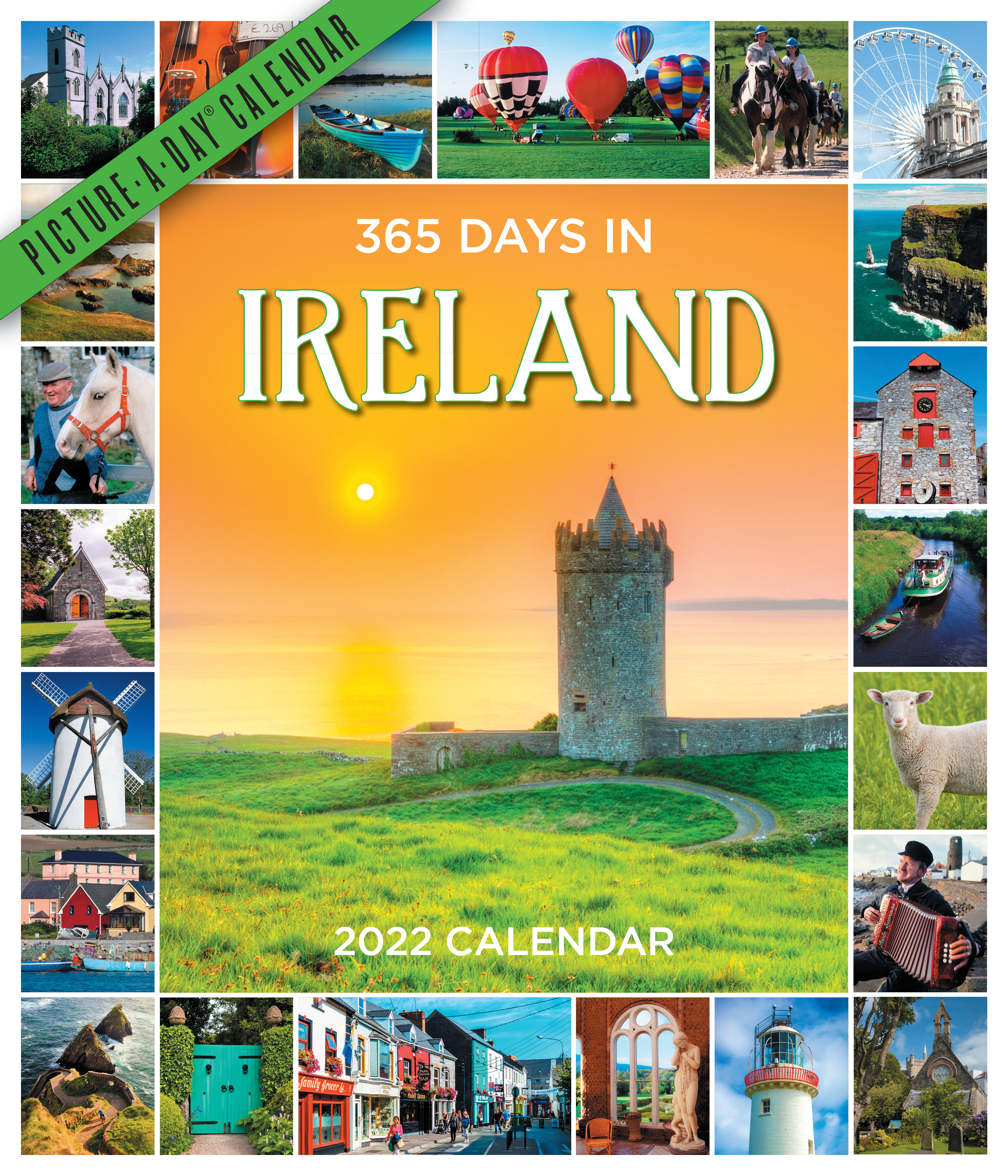 365 Days in Ireland Picture-A-Day Wall Calendar 2022
