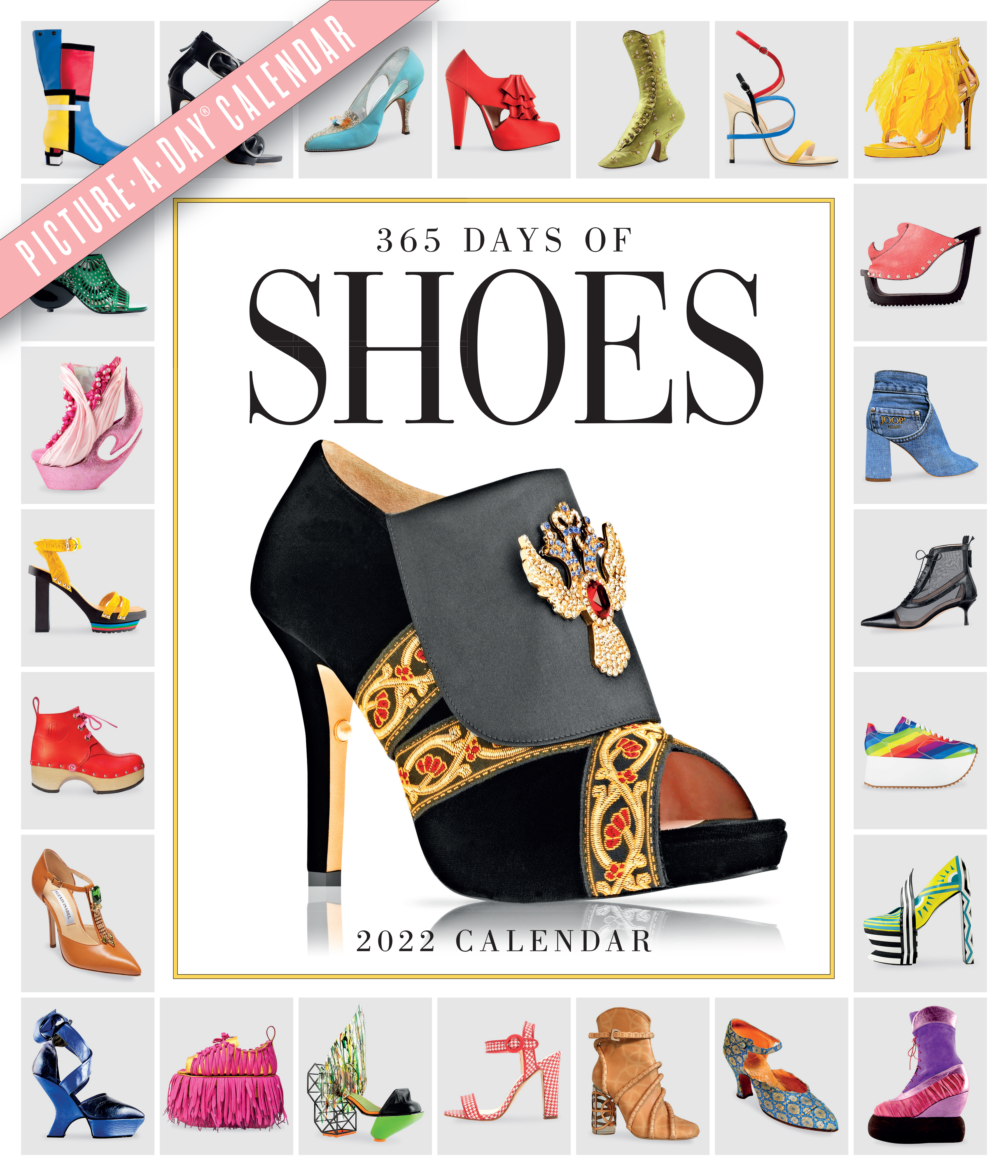 365 Days of Shoes Picture-A-Day Wall Calendar 2022