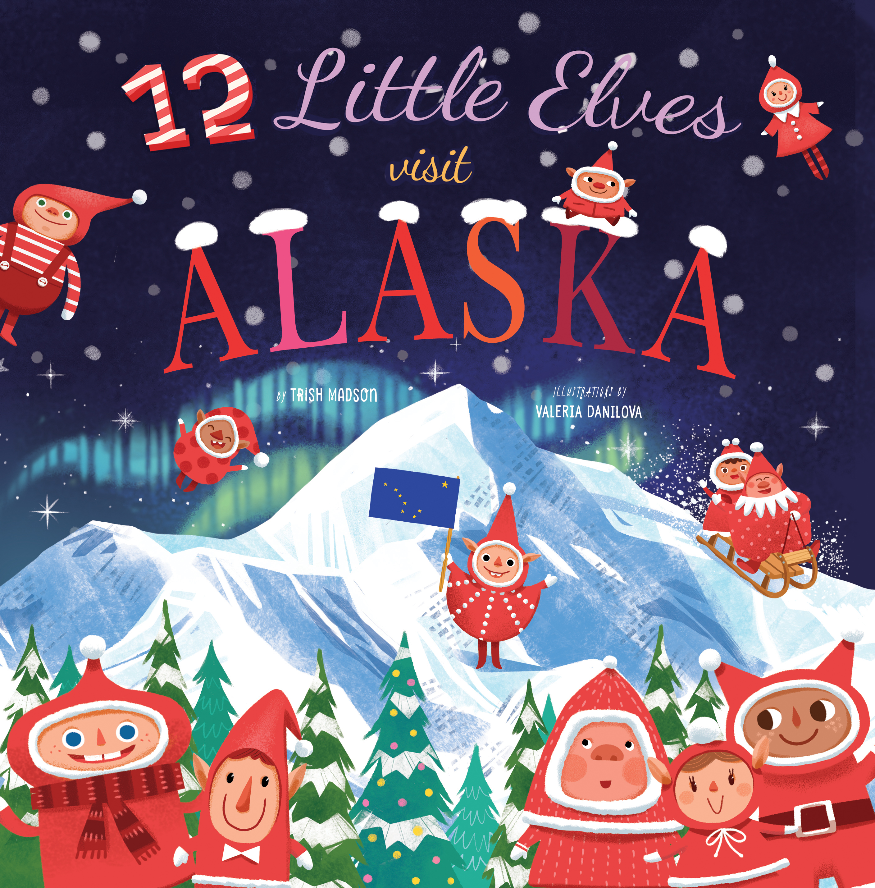 12 Little Elves Visit Alaska