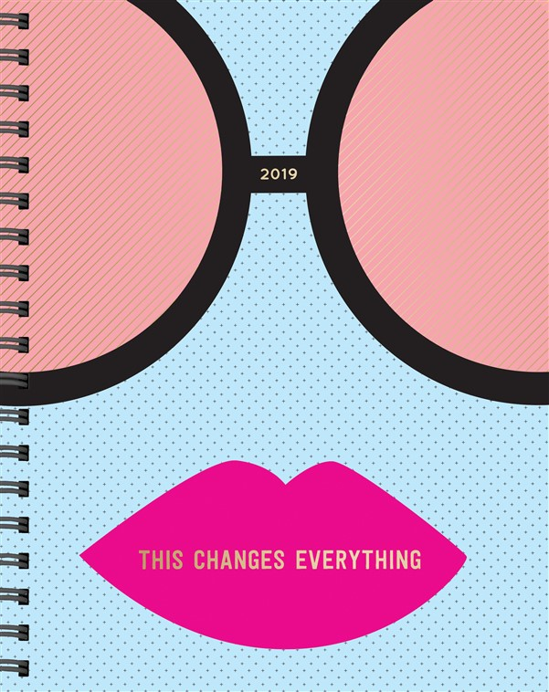 Workman Nataraj Books 8220hum8221 Remover This Changes Everything 17 Month Large Planner 2019