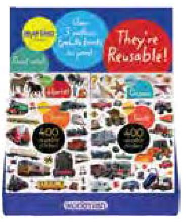 24-copy assorted counter display EYELIKE® STICKERS