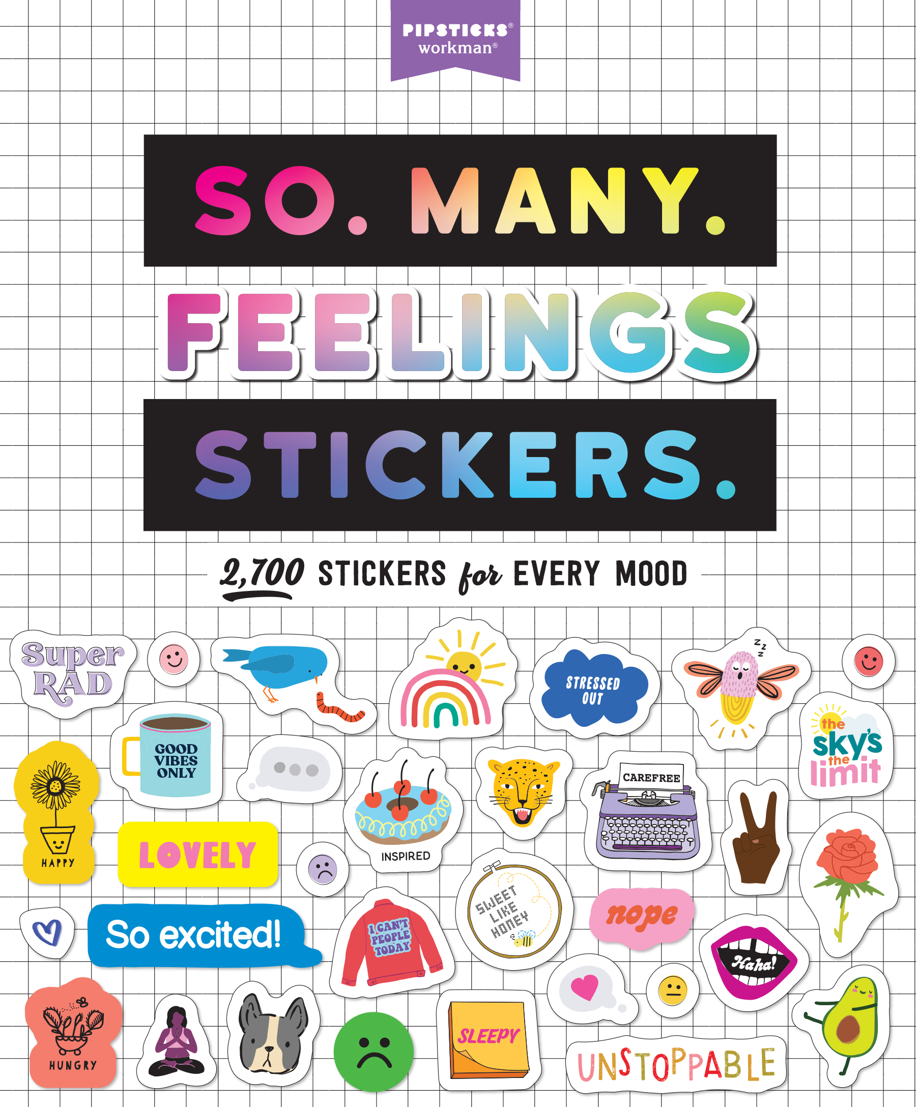 So. Many. Feelings Stickers.