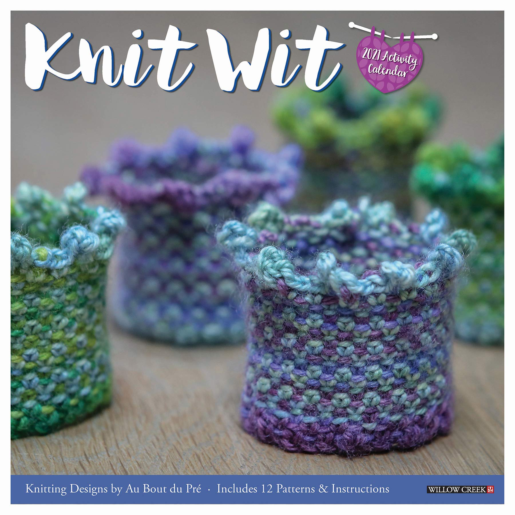Knit Wit 2021 Wall Calendar
